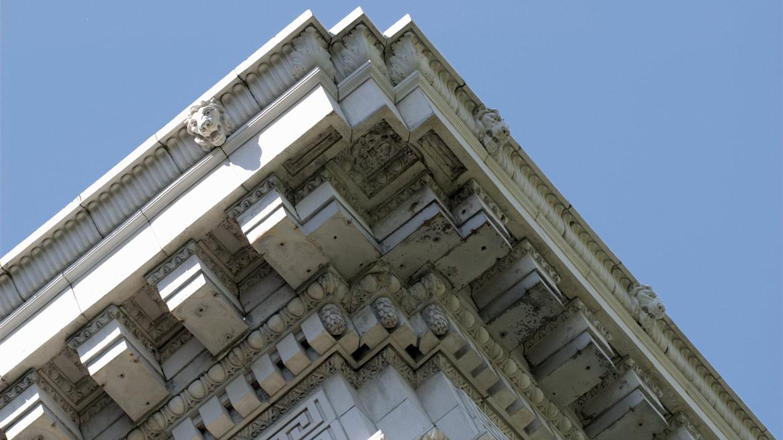 Charmant Architecture · Decorative Stone On Historic Building