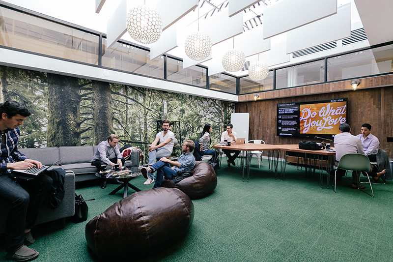 West Broadway WeWork space in New York