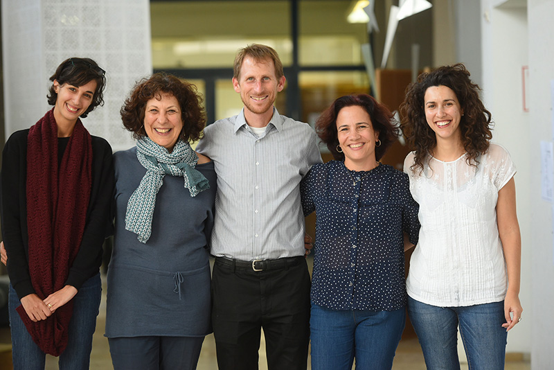 Professor Marc Shlossberg and colleagues
