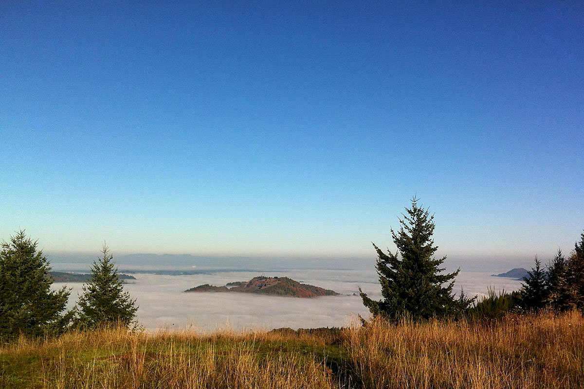 View from Mount Pisgah in Oregon