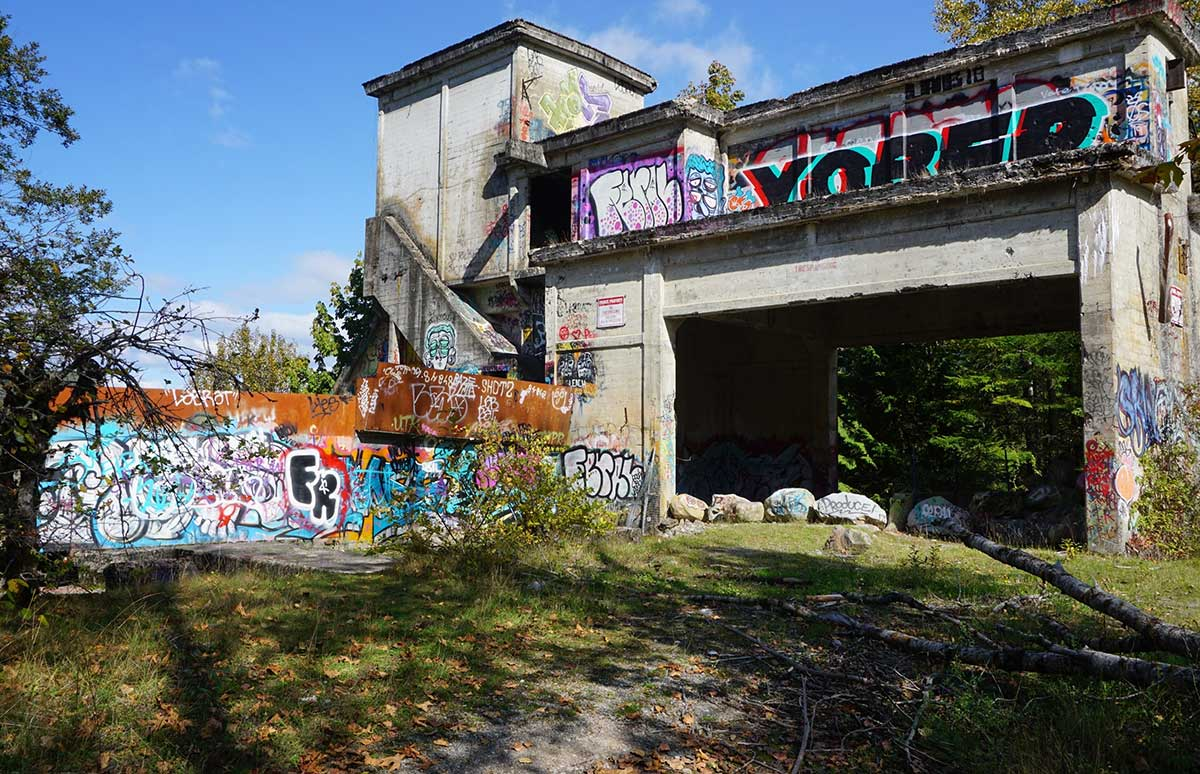 historic structure in Concrete, WA