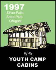 drawing of youth camp cabin