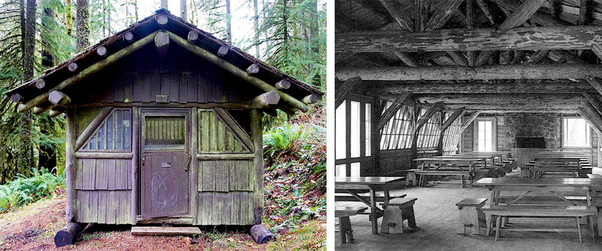 Cabins at Silver Falls State Park