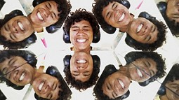 Alexis Griffin as viewed through her kaleidoscope