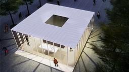 Rendering of Holocaust Memorial Center in Kiev