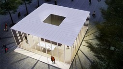 Rendering of Holocaust Memorial Center in Kiev