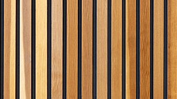 photo of wood slats